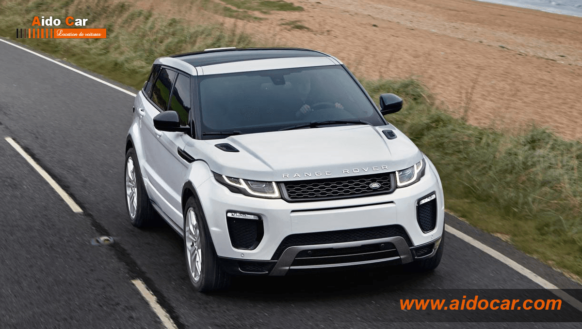 location range rover evoque casablanca