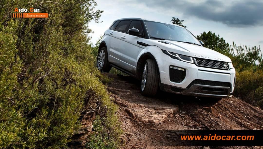 location range rover evoque casablanca