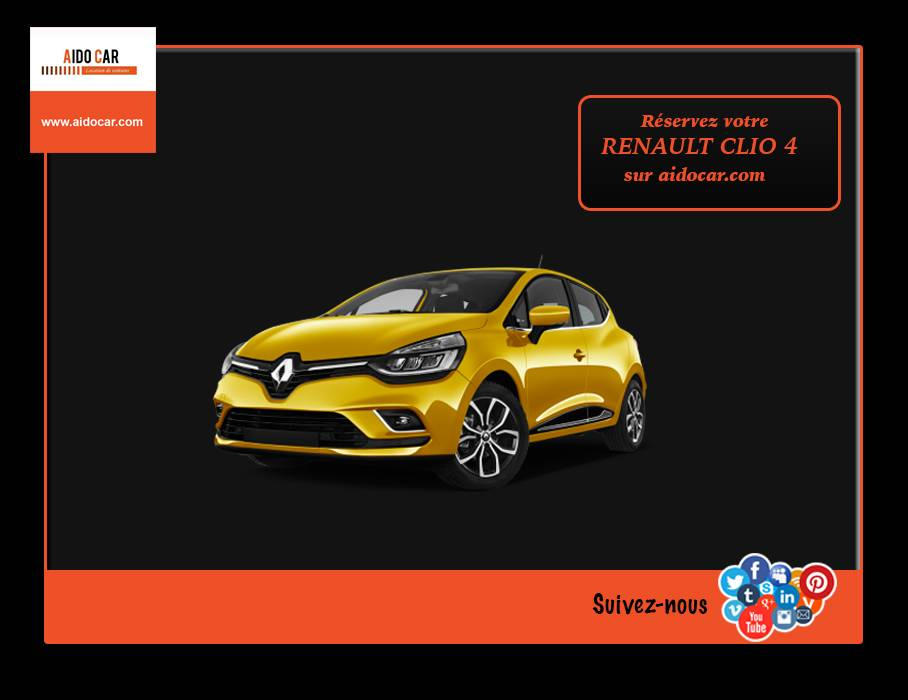 location renault clio casablanca