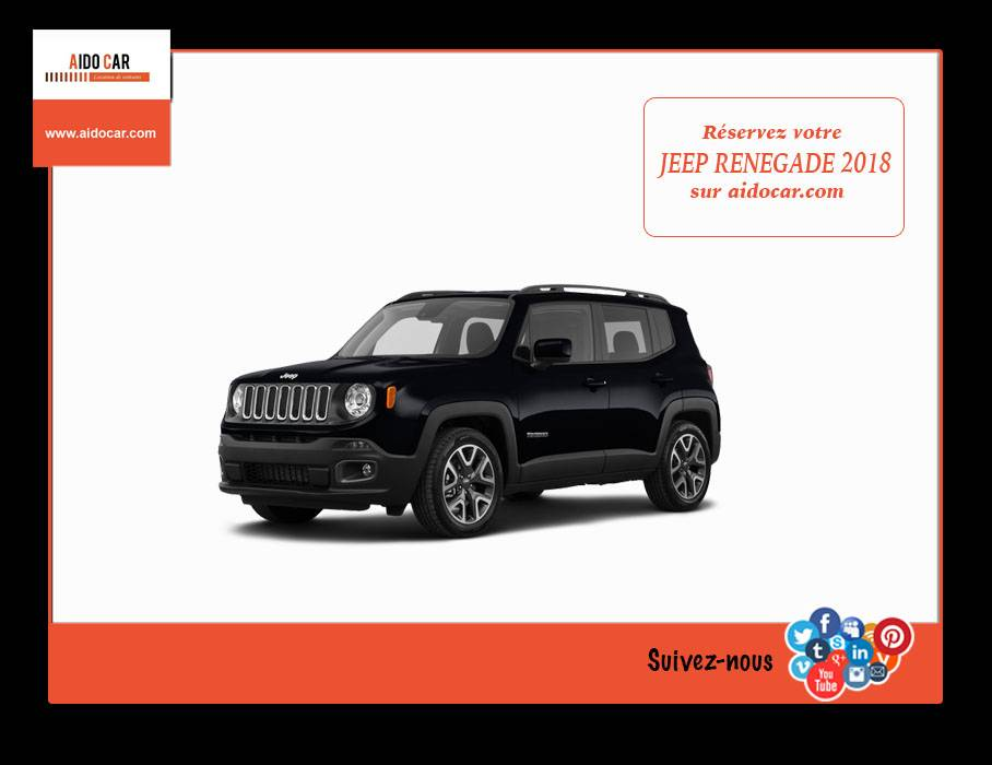 location jeep renegade maroc