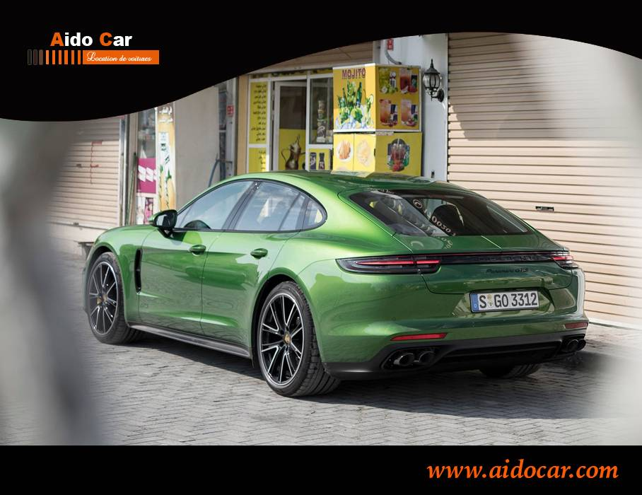 Location porsche panamera casablanca