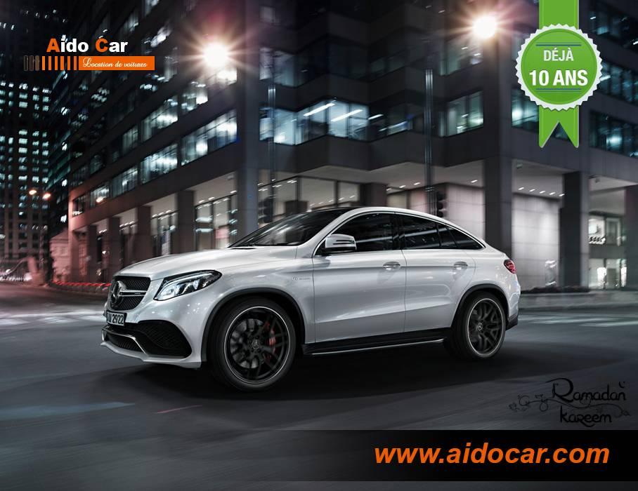 Mercedes gle coupé amg casablanca