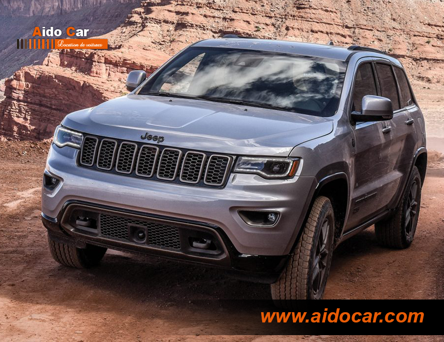 jeep grand cherokee anniversary édition