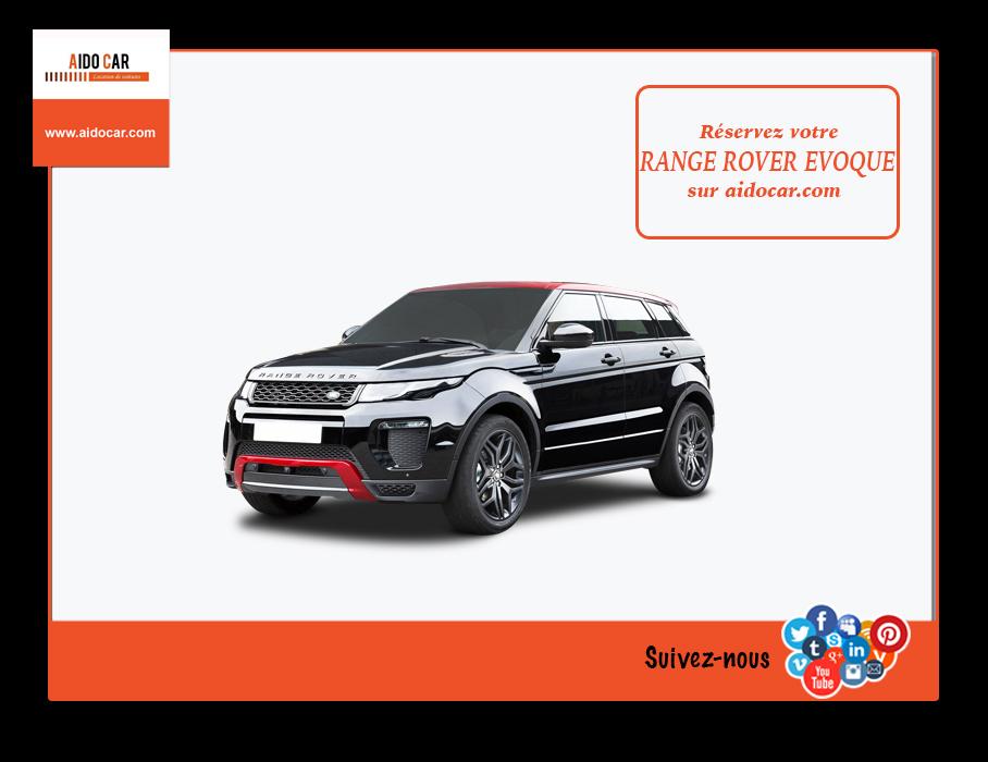 location range rover evoque maroc