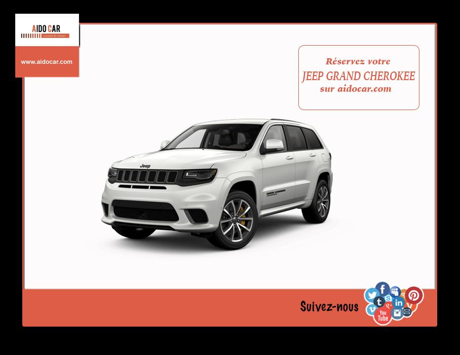 location jeep grand cherokee limited maroc