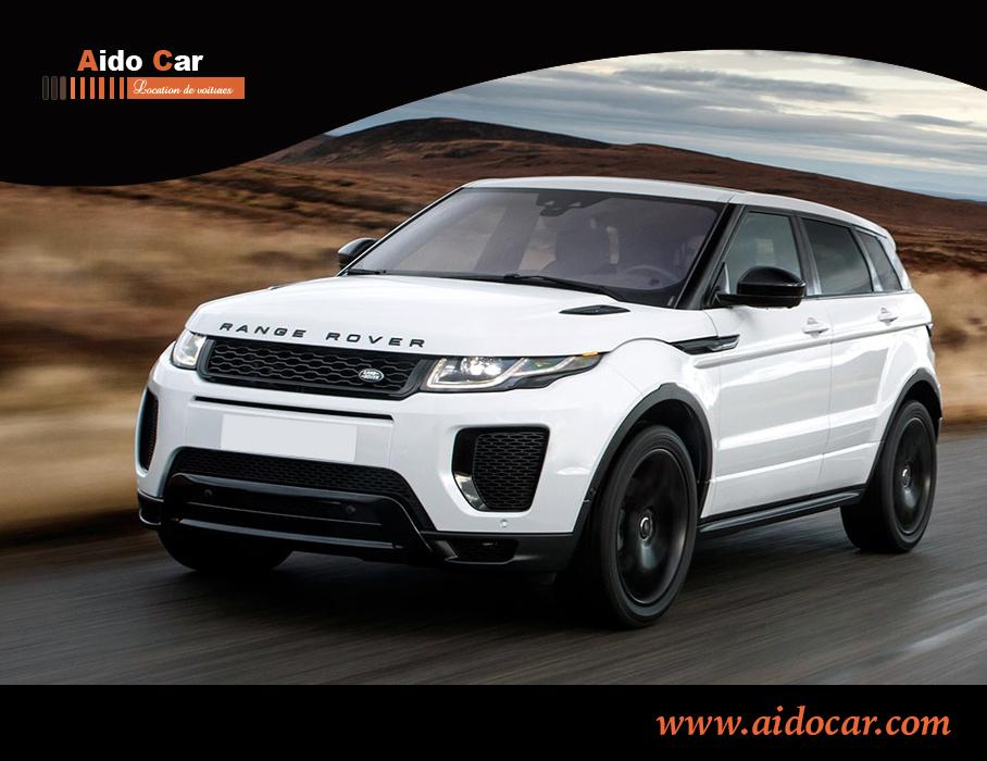 location range rover evoque casablanca maroc