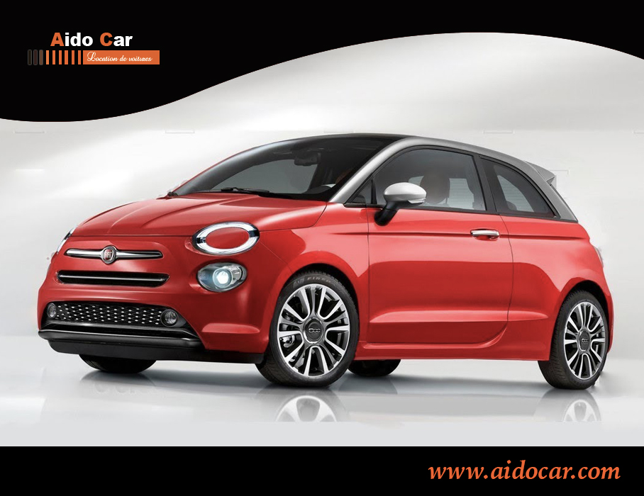 location fiat 500 2019 casablanca