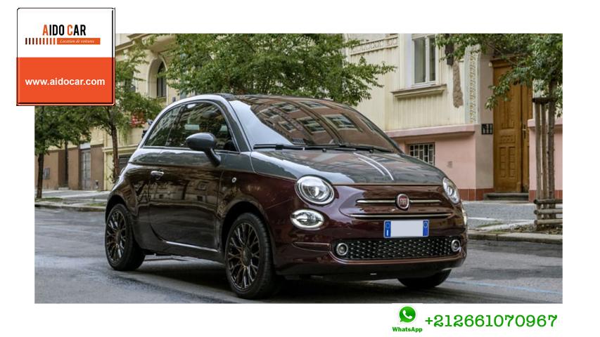 location Fiat 500 casablanca