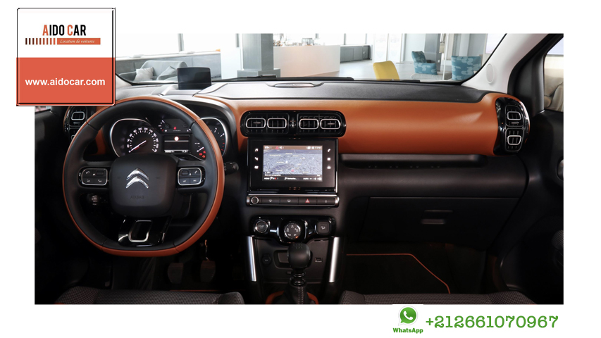 location citroein c3 a casablanca