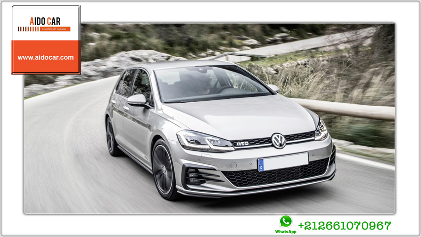 location volkswagen golf a casablanca