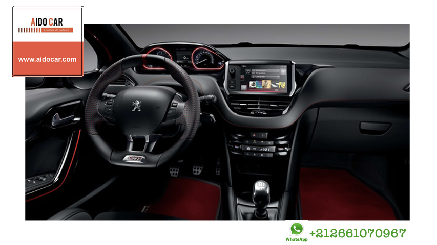 location peugeot 208 casablanca