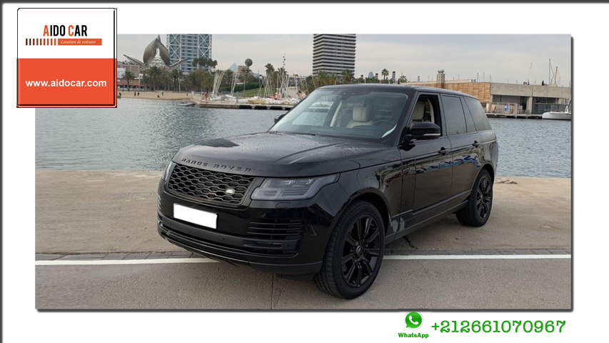 location range rover vogue a casablanca
