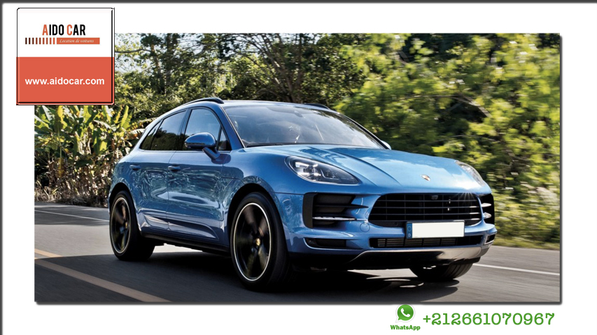 location Porsche Macan 4 a casablanca