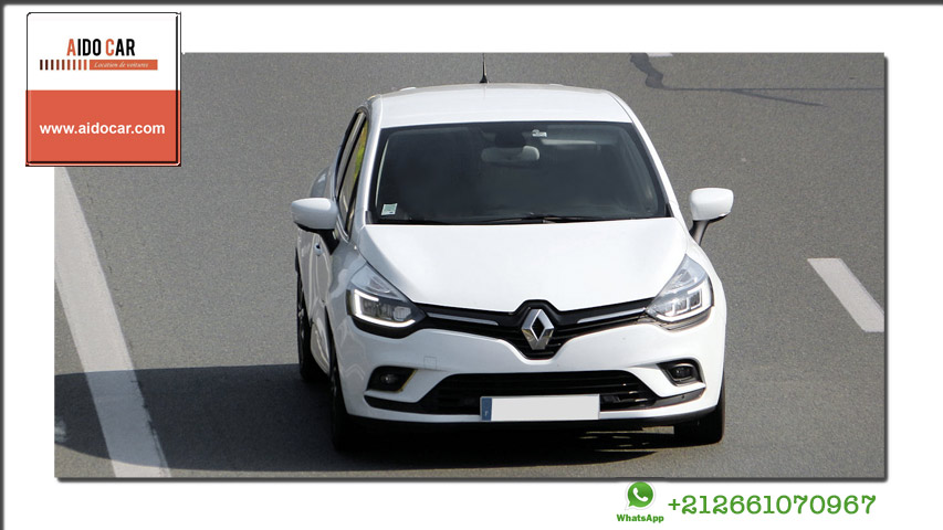 location renault clio 4 a casablanca