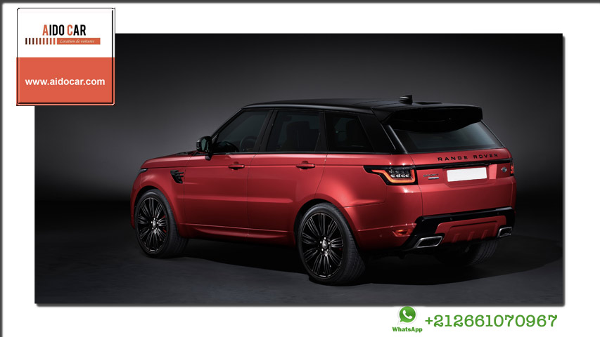 location range rover sport dynamic 2020 a casablanca