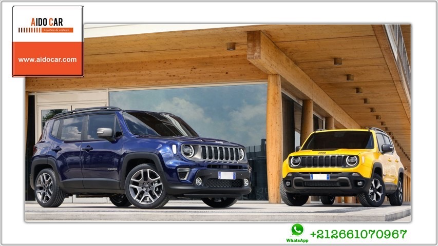 location jeep renegade SUV a casablanca