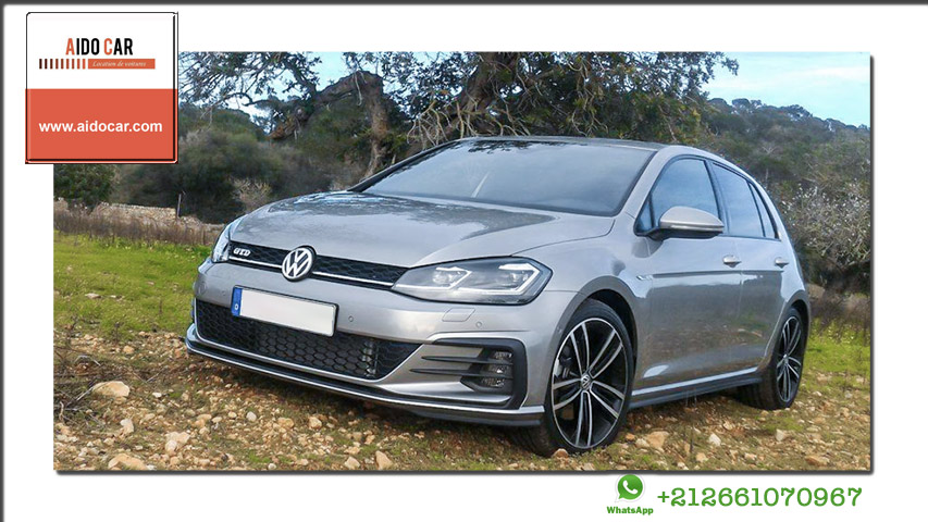 location volkswagen Golf 7 a casablanca