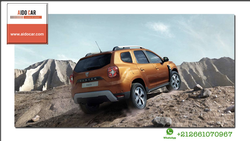 location Dacia Duster automatique a casablanca