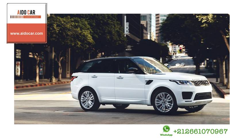 location range rover sport casablanca