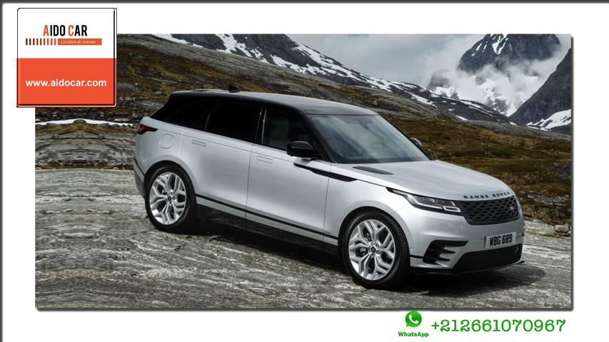 location Range Rover Velar a casablanca