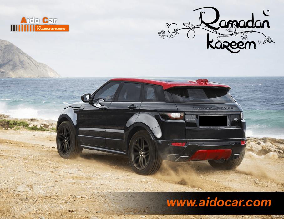 promotion location range rover evoque casablanca