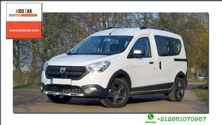 location dacia dokker a casablanca