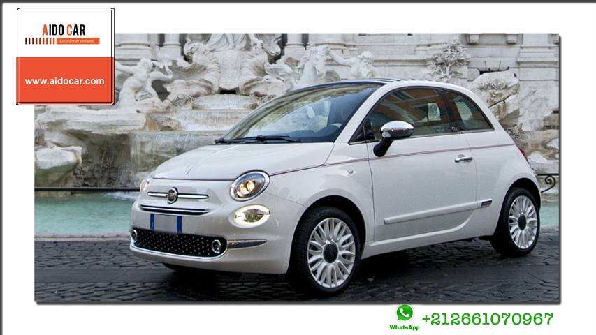 location fiat 500 a casablanca
