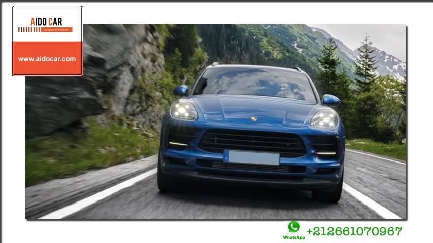 location porsche macan a aido car casablanca