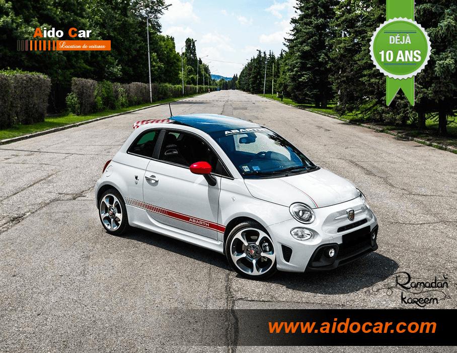 Fiat 500 abarth casablanca