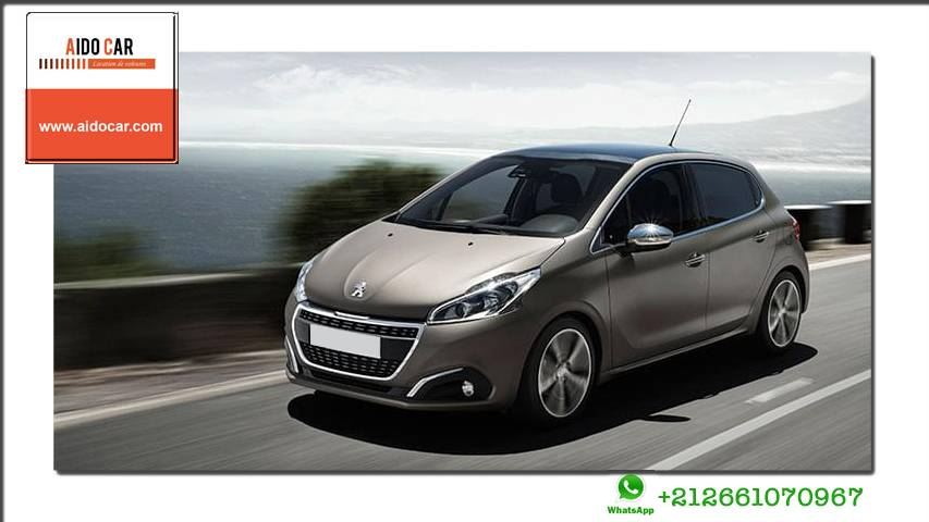 location peugeot 208 a casablanca
