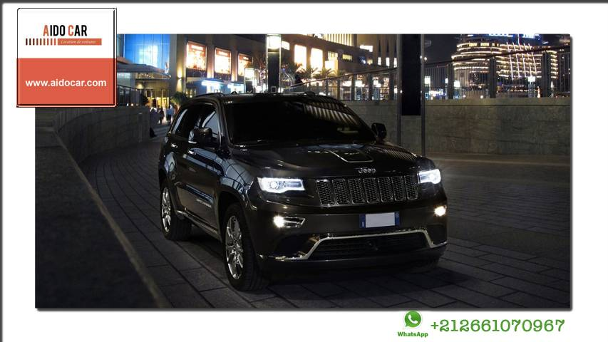 location grand cherokee jeep a casablanca